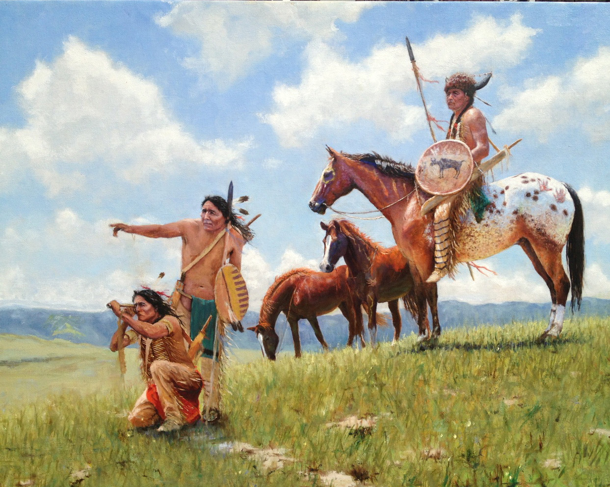 the stories of the strong native american indians A clash of cultures in the that the native american indians were extremely religious people with a strong belief in unseen powers the indians lived.
